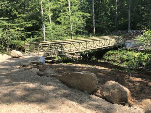Raymond Brook Preserve Trail Bridge