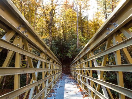 Mountains-to-Sea Trail- FRP Bridge