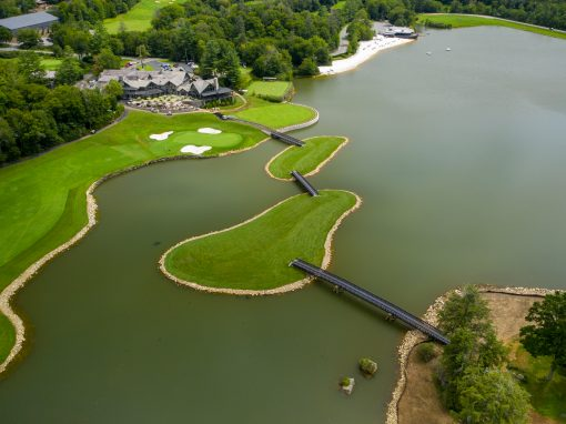 FRP Bridges for Grandfather Golf and Country Club