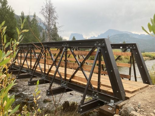 Lower Clear Creek Trail Bridge Replacement