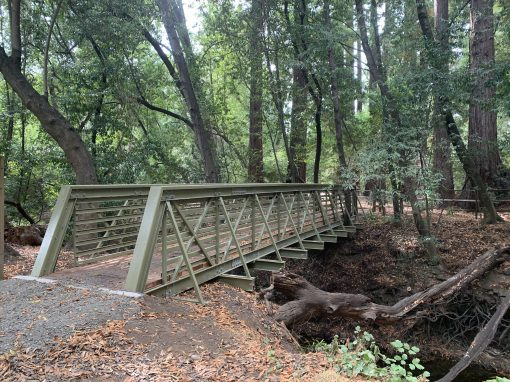 Equestrian Bridge for the Town of Woodside California
