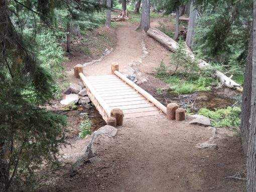 FRP I-beam stringer bridges for Crater Lake National Park