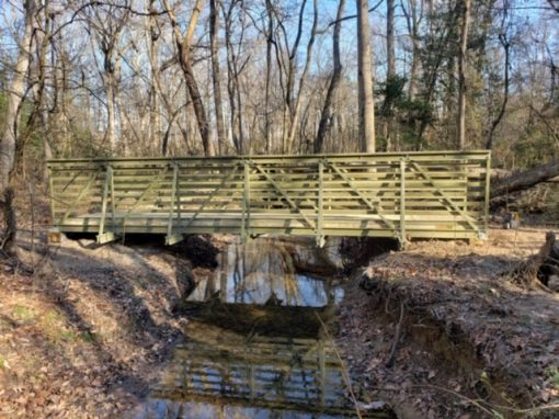 FRP Equestrian Bridge Kit, for Tuckahoe State Park