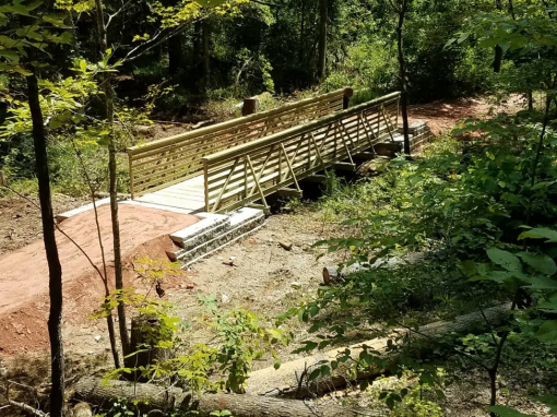 FRP Bridge for Enoree OHV Trail