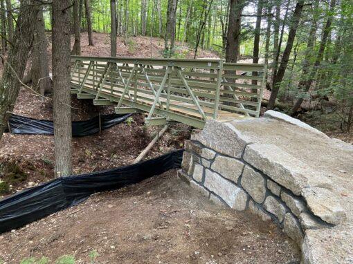 Ravine Trail Bridge North Conway New Hampshire