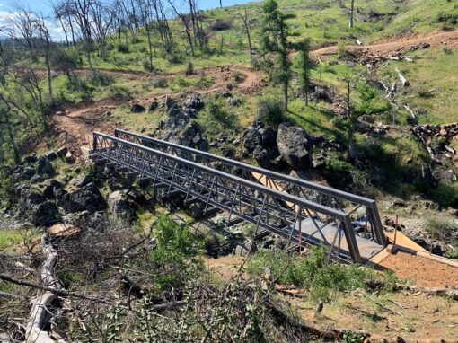 Fire Retardant FRP Bridge for the City of Redding California